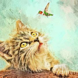 Mesmerized Kitty by Tina LeCour