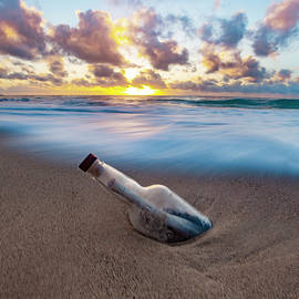 Message In A Bottle 2 by Sean Davey