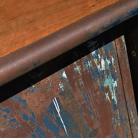 Metal Angles and Rust by Kae Cheatham