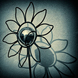 Metal Flower by Dave Bowman