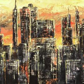 Metropolis Lights by Zan Savage