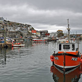 Mevagissey Harbour by Andrew Wilson