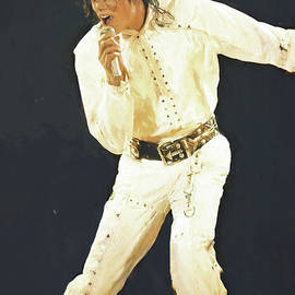 Michael Jacksons Painting  by Gull G