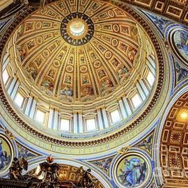 Michelangelo's dome  by Camelia C