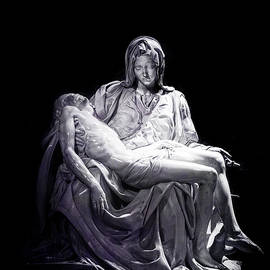 Michelangelo's Pieta by Nancy Carol Photography