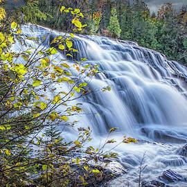 Michigan Upper Peninsula Bond Water Falls by Randall Nyhof
