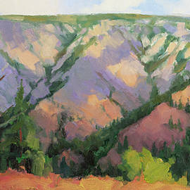 Midday at Chief Joseph Canyon by Steve Henderson