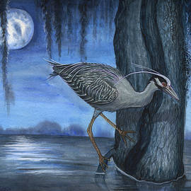 Midnight Fishing by Lisa Dragonetti