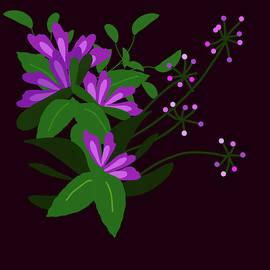 Midnight Flower Garden