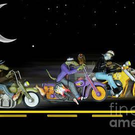 Midnight Run by Bob Christopher