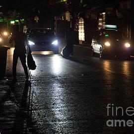Midnight Street Photography Hanoi Vietnam  by Chuck Kuhn