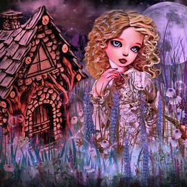 Midnight Stroll in the Garden by Artful Oasis