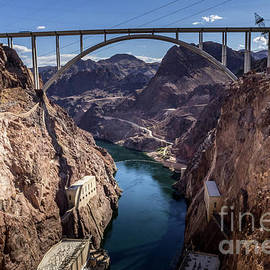 Mike O'Callaghan Pat Tillman Memorial Bridge by Mitch Shindelbower
