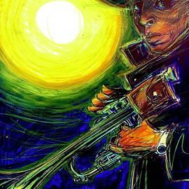 Miles Davis Midnight Melodies  by David Weinholtz