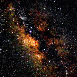 Milky Way Galactic Center or the Atlantic - Harkers Island North by Bob Decker