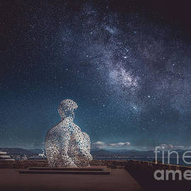 Milky Way in Antibes, France 2 by Liesl Walsh