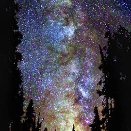 Milky Way, Mazama Forest by Douglas Taylor