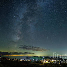 Milky Way over Monhegan by Scott Thorp