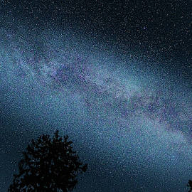 Milky Way over the Harz Mountains by Andreas Levi
