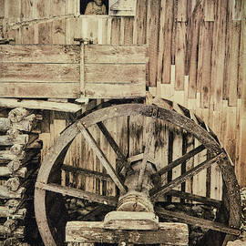 Miller At The Old Grist Mill by Jim Cook