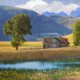 Miller House, National Elk Refuge by R christopher Vest
