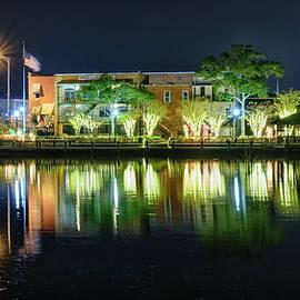 Milton, FL - Riverwalk at Christmas by Bill Chambers
