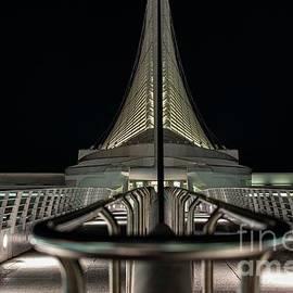 Milwaukee Art Museum Night View by David Bearden
