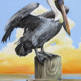 Mimi's Pelican 3 by Phyllis Beiser