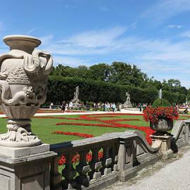 Mirabell  Garden Salzburg by Christiane Schulze Art And Photography