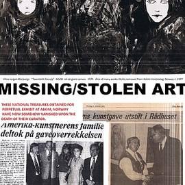 Missing/Stolen Art2 by Vilna Jorgen Morpurgo