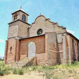 Mission Chapel Of Our Lady Of Light In Lamy, NM by Toni Abdnour