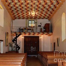 Mission San Francisco de Asis Choir Loft by Debby Pueschel