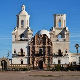 Mission San Xavier by Eric Tressler