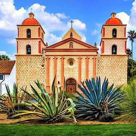 Mission Santa Barbara by Carolyn Derstine