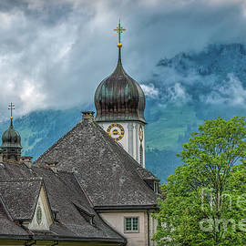 Mist Over the Monastery by Viv Thompson