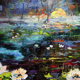 Misty Morning in The Swamp by Ginette Callaway