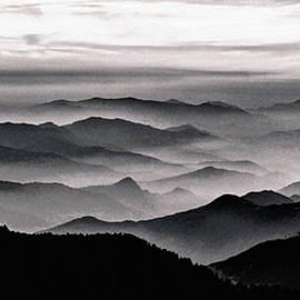 Misty Mountain Noir by Susan Maxwell Schmidt