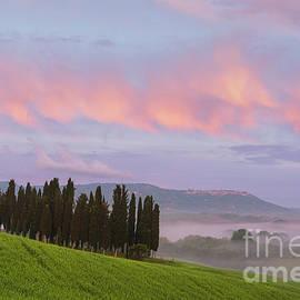 Misty sunset by Yuri San