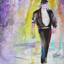 MJ walking on street by Suraj Kshirsagar