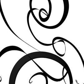 Modern Abstract Sunday Symphony 2 by Sarah Niebank