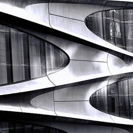 Modern Art On A Building by Allen Beatty