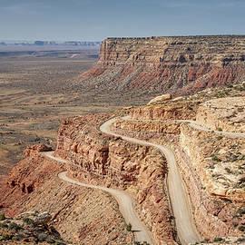 Moki Dugway Utah by Joan Carroll