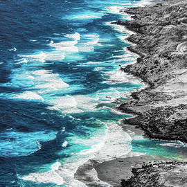 Molokai Dream Aerial by Michele Hancock