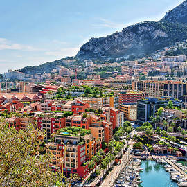 Monaco, Monte Carlo residential area by Tatiana Travelways