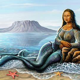 Monalisa Mermaid by Anthony Mwangi