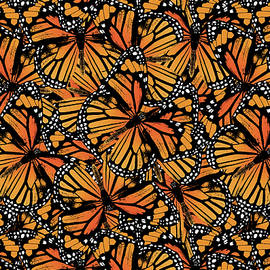 Monarch Butterfly Pattern by Eclectic at HeART