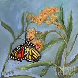 Monarch in the Milkweed