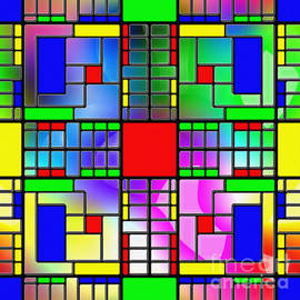 Mondrian Monopoly by George Art Gallery