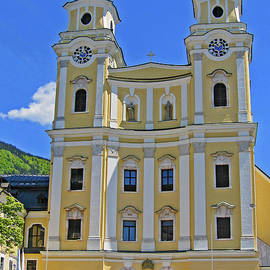 Mondsee Abbey Church by Ann Horn