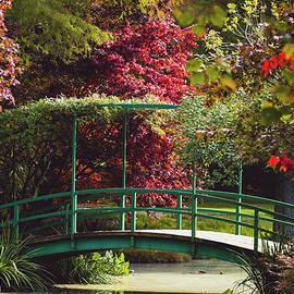 Monet Bridge at Gibbs Gardens by Mary Ann Artz